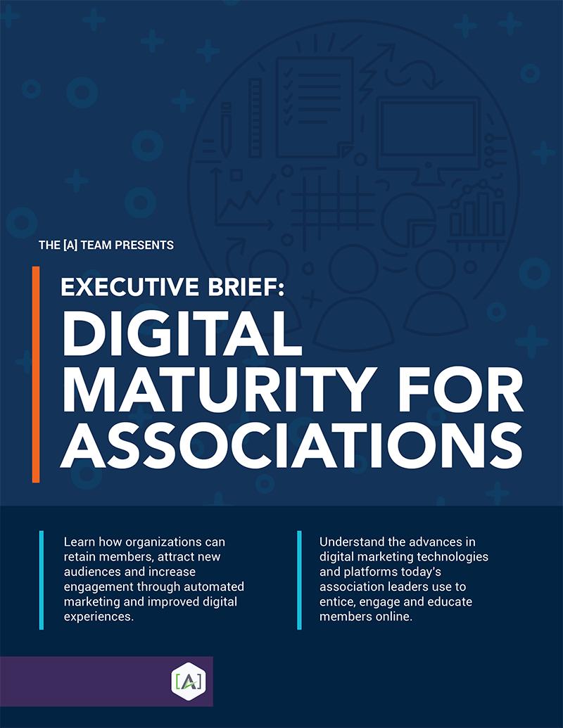 Executive Brief: Digital Maturity for Associations
